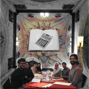 Collage: Publishing workshop in the Colegio Arzobispo Fonseca, by Julien McHardy.