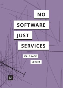 figure 5: »no software just services« by Kaldrack, Leeker