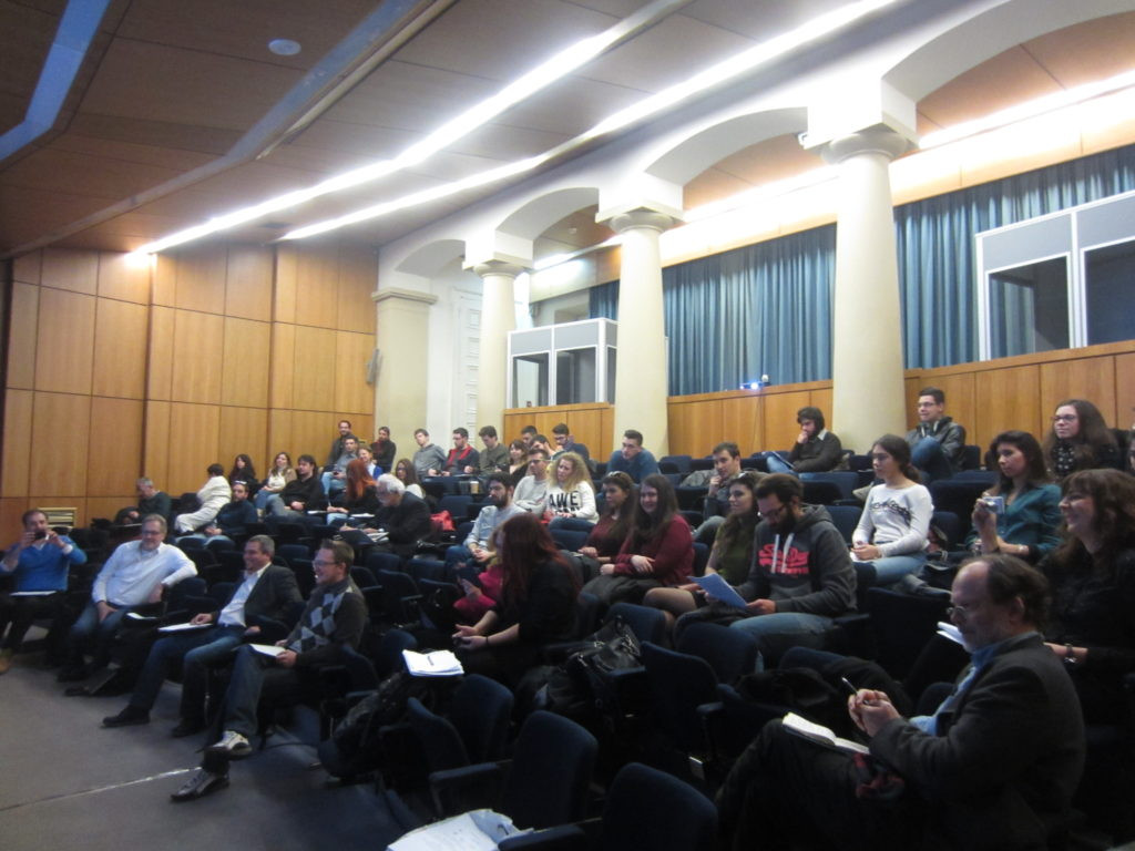 Audience of the workshop, photograph by author